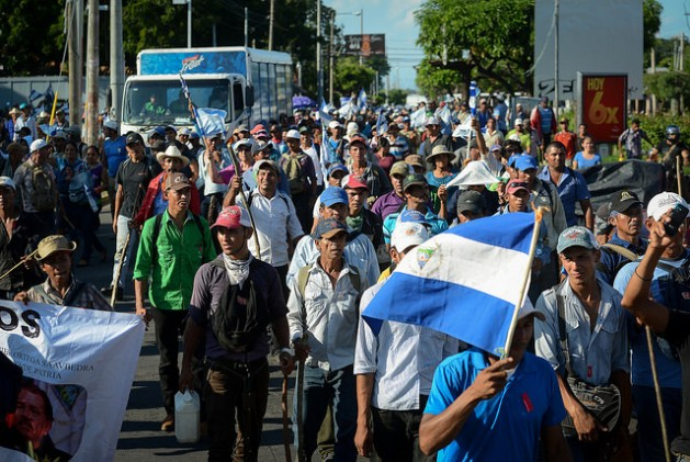 nicaragua manif canale
