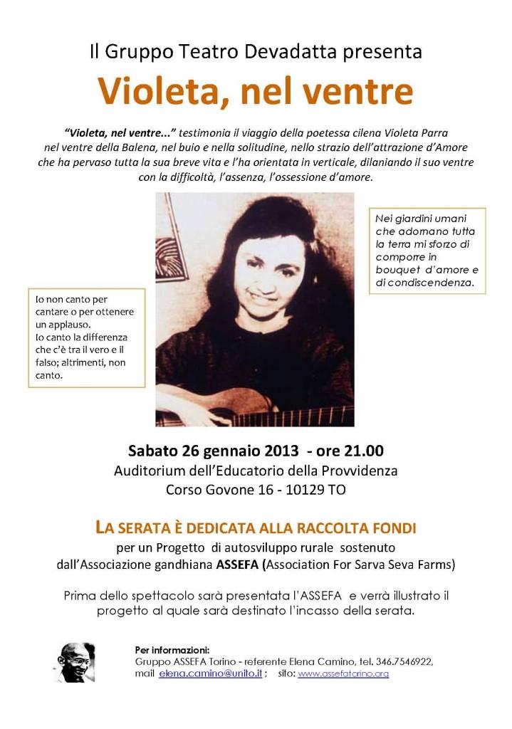 locandina Il Gruppo Teatro Devadatta 2013DEF
