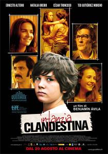 locandina Infanzia clandestina, regia di Benjamin Ávila