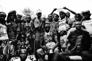Milizie antibalaka (foto Ugo Lucio Borga/EchoPhoto