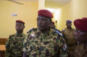 Il tenente colonnello Yacouba Isaac Zida ©Reuters
