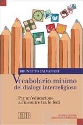 cop_Brunetto Salvarani, Vocabolario minimo del dialogo interreligioso