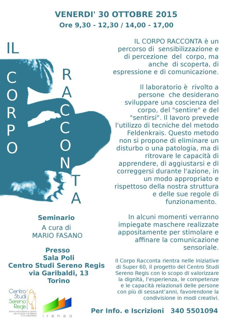 iL CORPO RACCONTA 2015