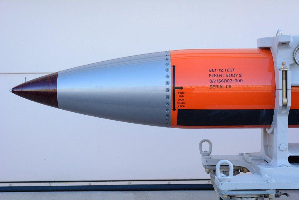 Un prototipo di bomba B61-12