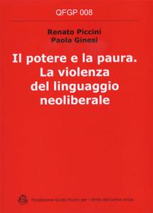 cop_Renato Piccini, Paola Ginesi, Il potere e la paura