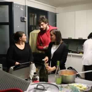 come nella cucina di casa