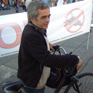 Nanni in bici