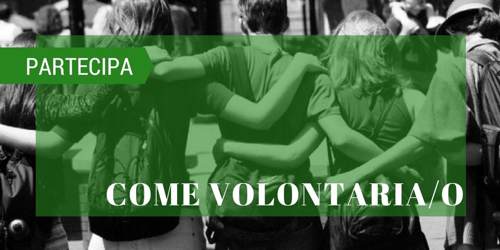 Diventa volontario\a
