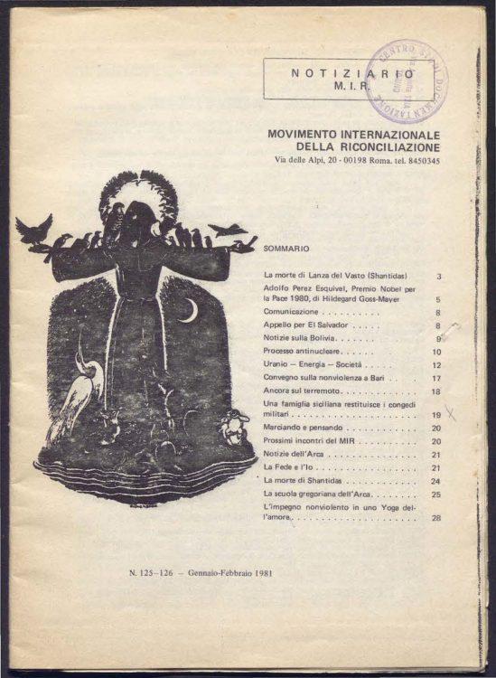 Collezione del Notiziario MIR