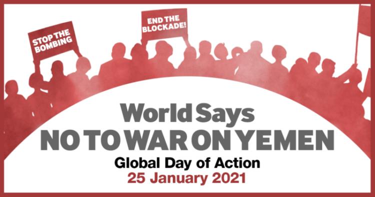 Il mondo dice no alla guerra allo Yemen