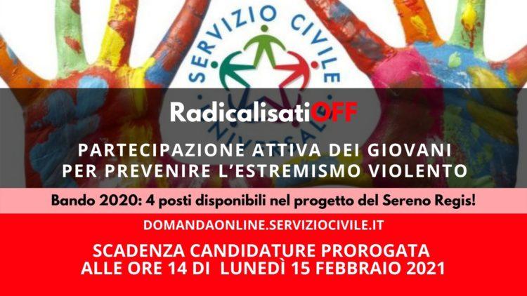 RadicalisatiOFF partecipazione giovani estremismo