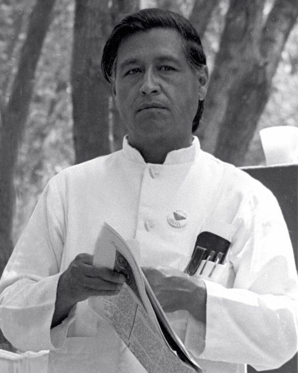 Un ritratto di César Chávez