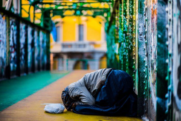 Il dramma dei senza fissa dimora a Torino