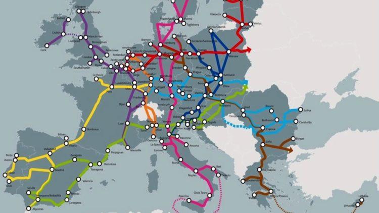 Le reti di trasporto trans-europee e la guerra
