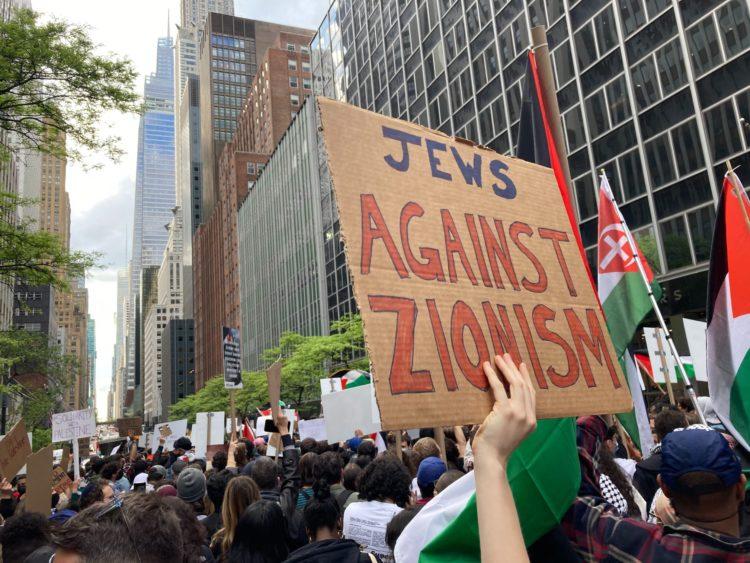 La danza tormentata del colonizzatore sionista