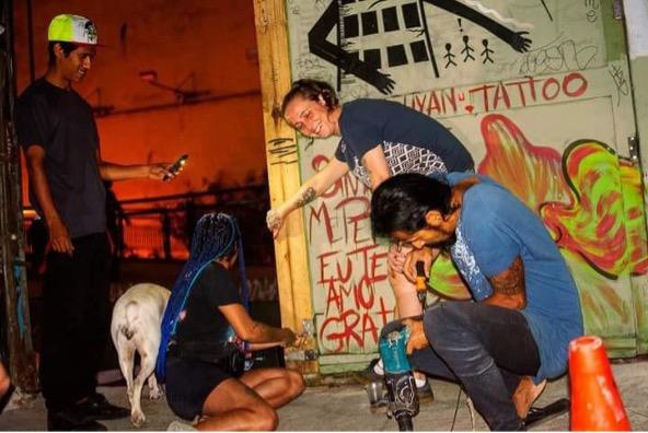 Intrecci d'arte sociale in Brasile