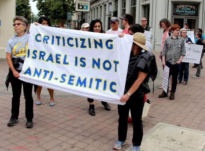 Allontanare gli antisemiti dal movimento per la Palestina