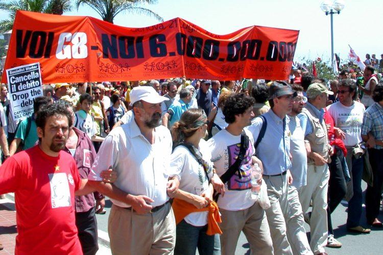 Lotta nonviolenta al G8 di Genova