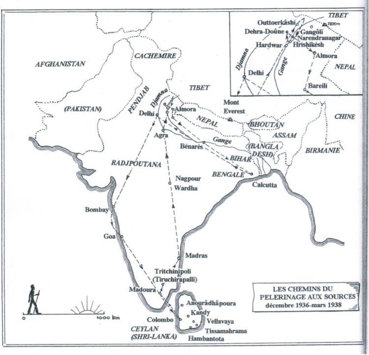Il viaggio in India come conversione